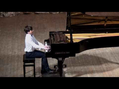 Illia Ovcharenko (piano). Solo recital in Chernigiv Philharmonic hall (2017)