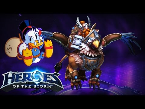 ♥ Heroes of the Storm (Gameplay) - Falstad, Isn't Falstad Scrooge? (DQ#66)