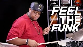 Funky Drum Solo | Stanley Randolph | Drum Warm Up