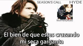 Gambar cover ♥♥♥ Season's Call - Hyde [Letra en Español] ♥♥♥