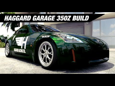Haggard Garage Damiens 350z Build - Forza Horizon 3