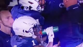 College Football:Buffalo Punter gets leg broken!