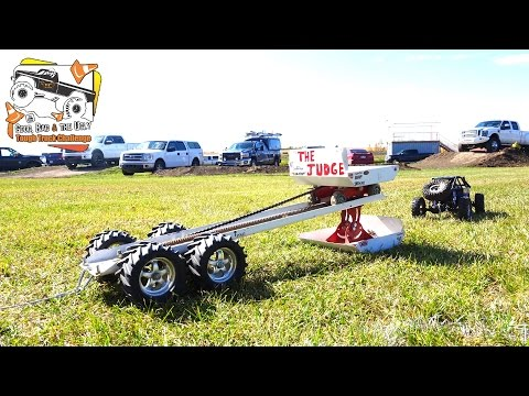 "RC ADVENTURES - POWER PULLiNG ""The JUDGE"" Weight Sled 4x4 TRUCKS - POKER RALLY TTC 2016 -  PT 3"