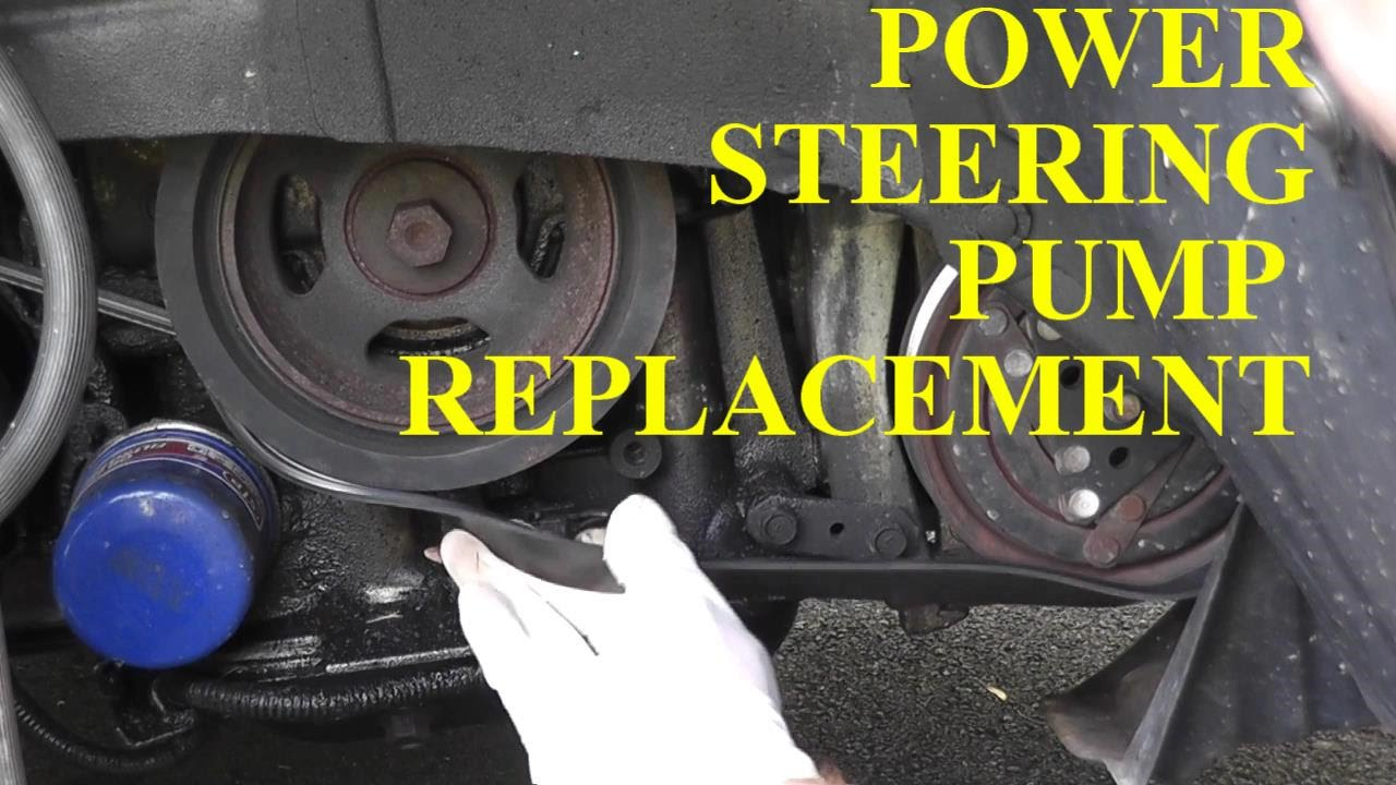 Nissan Maxima Infiniti Power Steering Pump Replacement Youtube 2003 Murano Wiring Harness