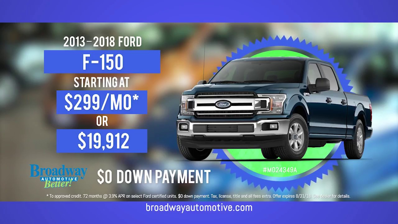 Broadway Automotive Green Bay >> Broadway Automotive Used Car Superstore Green Bay Wi August 2018 Sale