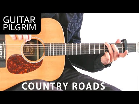 How To Play TAKE ME HOME, COUNTRY ROADS By John Denver