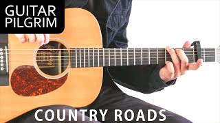 Country Roads Guitar Lesson!