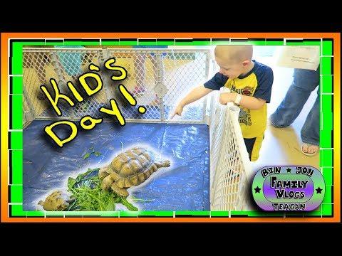 Kid's Day & Great Falls Comic Expo! 700th Vlog!! 9.23.2017 | Bin and Jon's Family Vlog