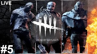 Dead By Daylight | Livestream | #5 (Lag issues later) (No Commentary)