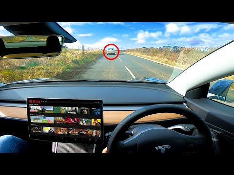 I used Tesla Autopilot for 99% of my UK Road Trip