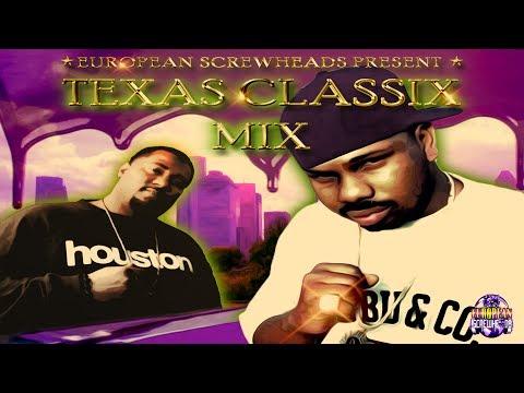 DJ SCREW - Texas Classix Mix + ESG, BOTANY BOYS, BIG MOE, LIL FLIP, BIG T