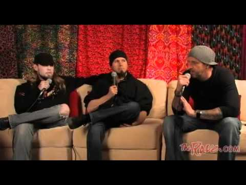 Drowning Pool exclusive backstage interview