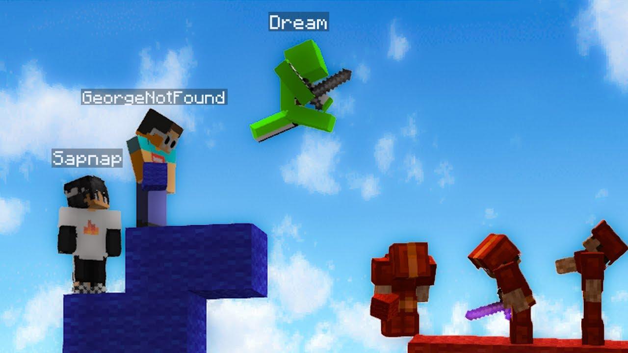 Download Dream Team destroying in Bedwars