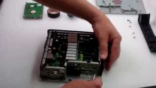 mini computer thinclient hp with hdd