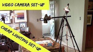 Cheap Lighting & Video Set-up For Table Top Videos & Unboxings