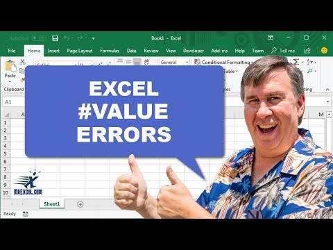 MrExcel's Learn Excel #767 - #VALUE Errors