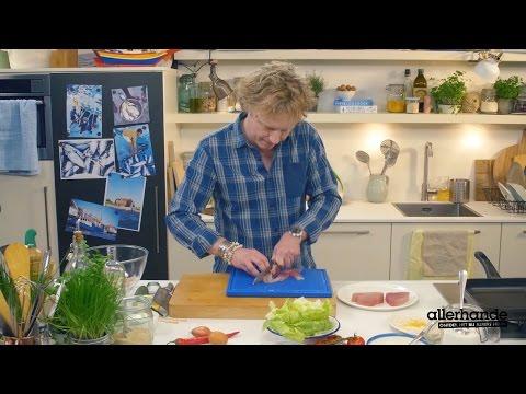Allerhande kookt met Bart van Olphen - tonijnburger