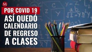 Calendario De Regreso A Clases Por Covid-19