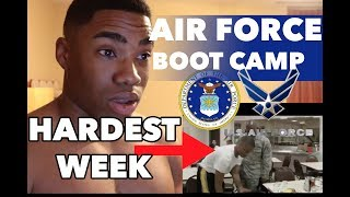 ACTIVE DUTY MARINE REACTS TO AIR FORCE BMT ZERO NIGHT 2018