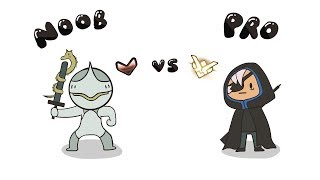 Noob genji vs Pro Ana (OVERWATCH ANIMATION)
