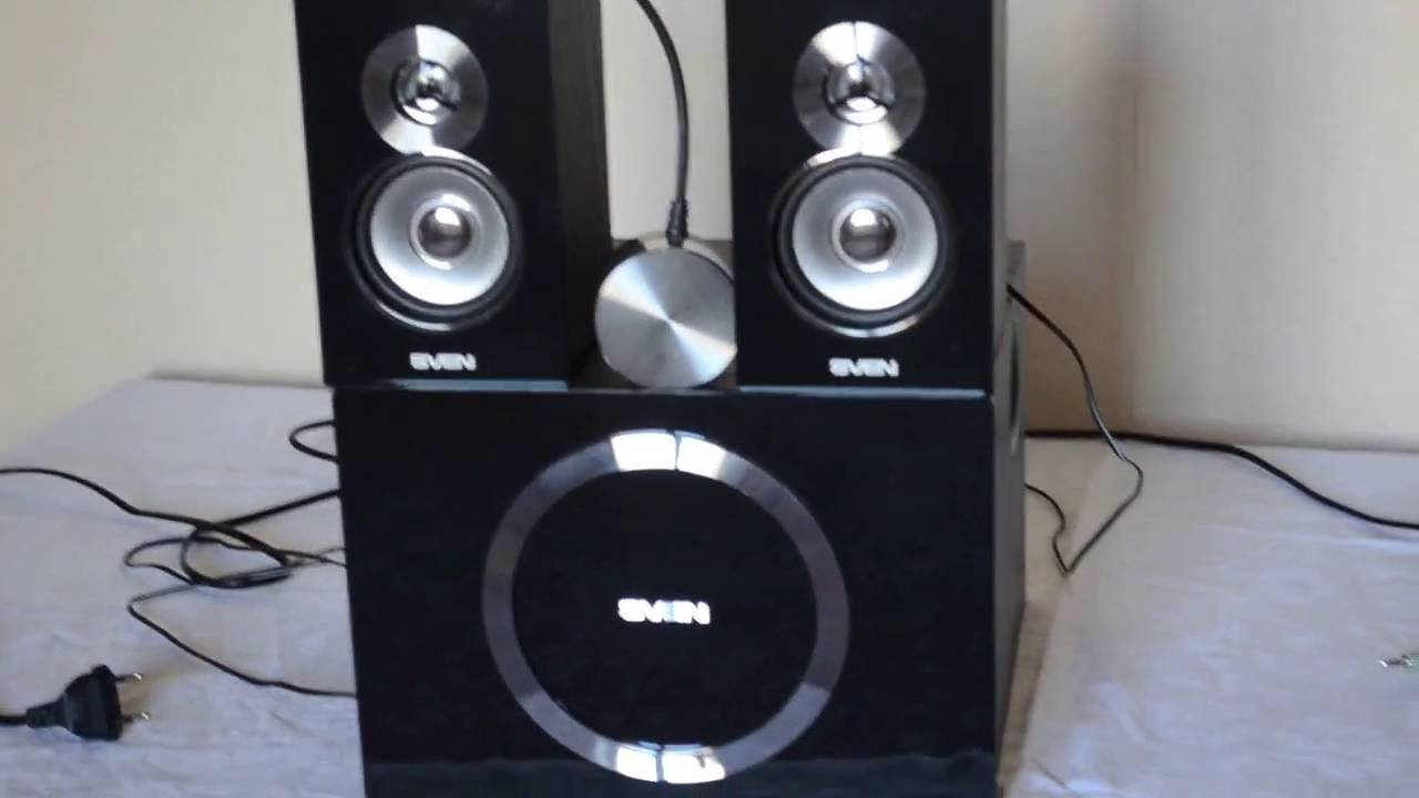 Computer speakers Sven MS-1085: review, reviews 91