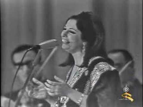 نجاة الصغيرة - ساعة ما بشوفك جنبي - سينما الاندلس 1966