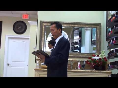 Andy Xuan Bach Tran -Gospel and miracle healing 2013-Mục sư Tống Phước Sinh