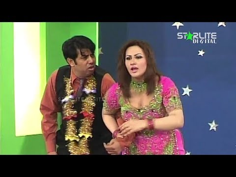 Miss World-  Nargis - New Pakistani Stage Drama 2017 - Full Comedy Funny Play