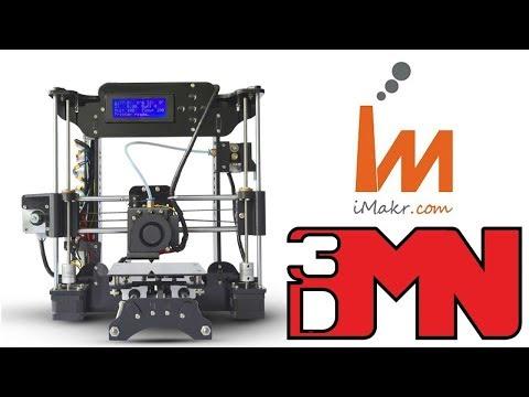 imakr STARTT 3D Printer Live Build