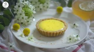 法式檸檬塔|Lemon Tart|甜點食譜|ASMR cooking no talking cake|4K