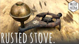 Old Rusty Stove Restoration | Mister Patina