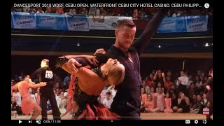 DANCESPORT 2018 WDSF, CEBU OPEN. WATERFRONT CEBU CITY HOTEL CASINO. CEBU PHILIPPINES, TRAVEL, DANCE.