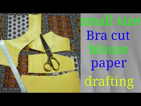 small 40size bra cut paper drafting cutting