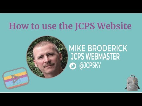 Using The JCPS Website