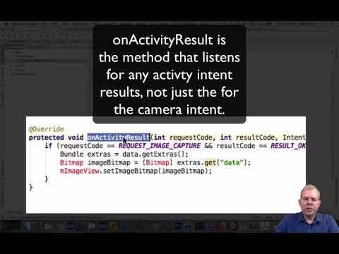 Android Photo App 04 OnActivityResult