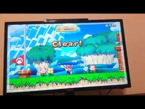 New Super Mario Bros. U Acorn plains speedrun 50.87 (TAS)