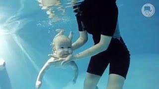 Грудничковое плавание в ТоТо (Павел, 4 месяца)
