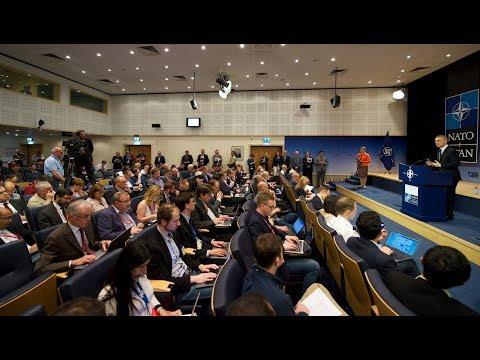 NATO Secretary General press conference, 24 May 2017, Part 1/2