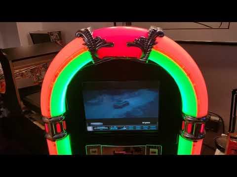 touchscreen bubbler jukebox plays mp3s,music videos and karaoke