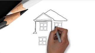 Как нарисовать дом?(Как заработать на рисованном видео http://gordrich.com/wppage/doodle Видео открытка для родных, близких, коллег на заказ..., 2013-08-22T08:38:07.000Z)