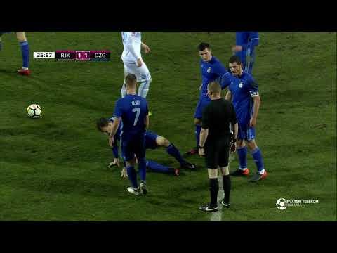 Rijeka - Dinamo 4:1 - sažetak 23. kolo (2017./2018.)
