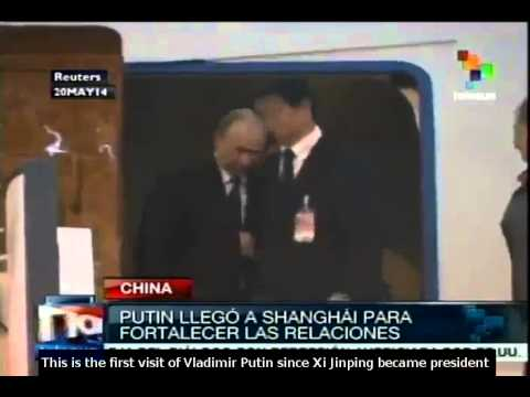 Russian President Vladimir Putin arrives in China for state visit