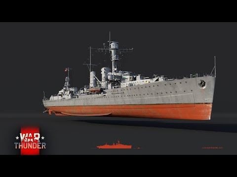 War Thunder - Upcoming Content - Emden Light Cruiser