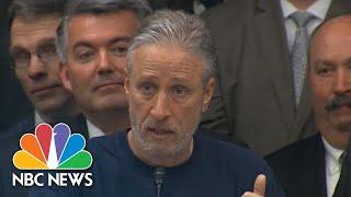Jon Stewart Demands Congress Fund 9/11 Victim Program 'Properly' | NBC News