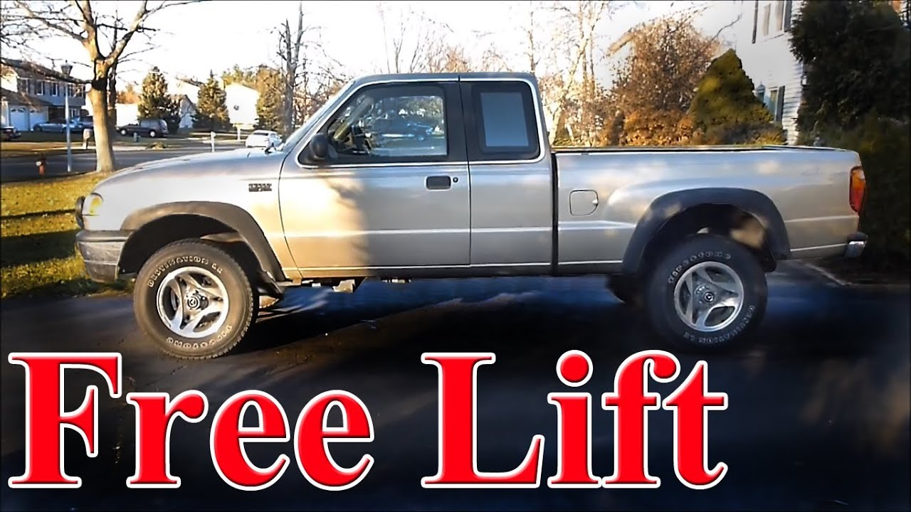 Lift Your Truck for Free via a T Bar Crank (torsion bar ...