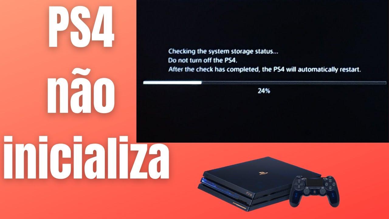 Download PS4 não inicializa, Como tirar PS4  do MODO DE SEGURANÇA, sem pendrive e sem PC