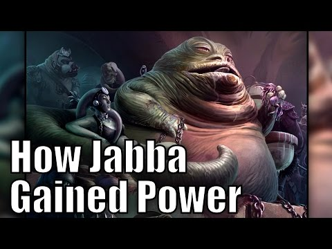 How Jabba the Hutt became a Powerful Crime Lord