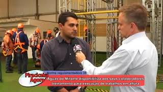 Reportagem especial: Treinamento NR 35 - Execução de trabalho em altura