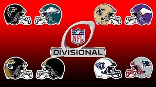 NFL Playoffs Divisional Round Preview, Predictions & Break Down | NFL Playbook