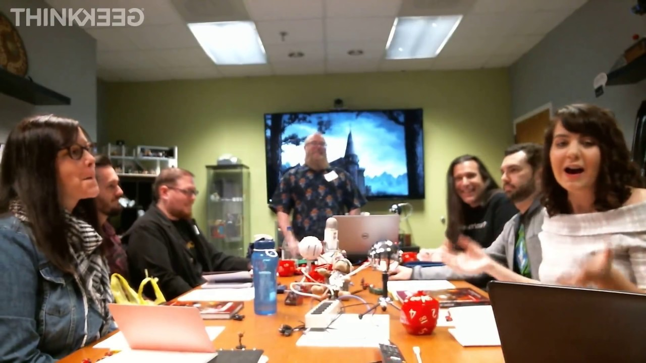 Dungeons & Dragons Halloween Livestream